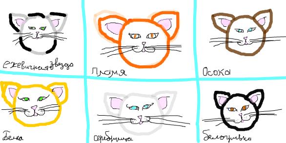 Коты воители