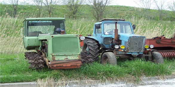 Купить трактор дт 75 бульдозер бу